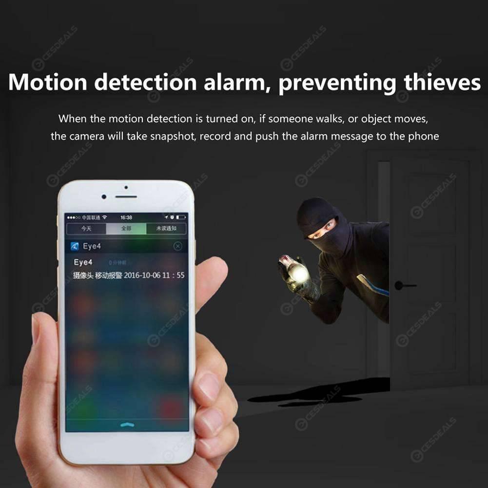 Wireless WiFi 4MP Security Camera P2P IR Night Vision Pan Tilt Webcam US