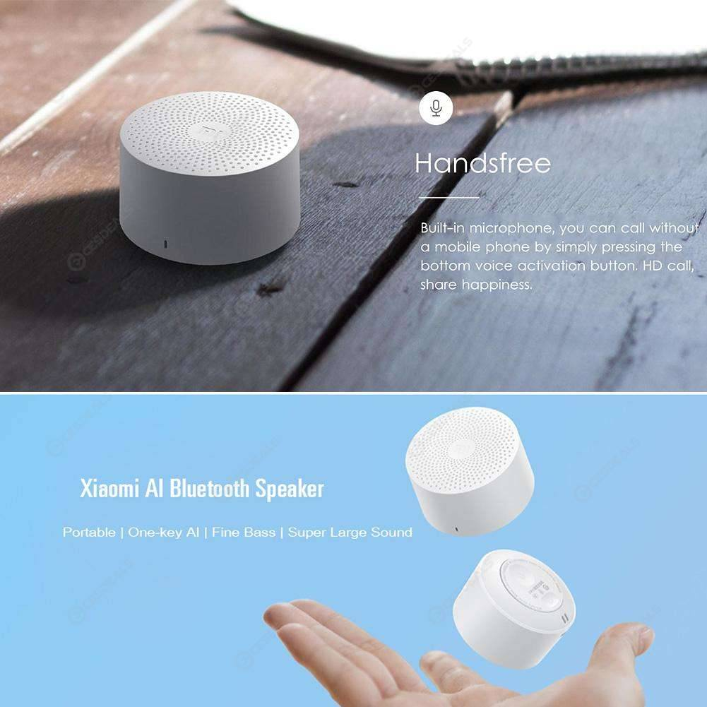 Xiaomi AI Portable Version Wireless Bluetooth Speaker Smart Voice Control