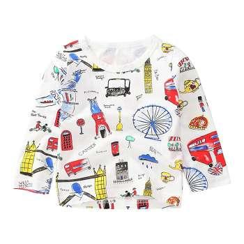 Hocoo Unisex Kids Cute Shirt Cute Frog T-Shirt 6M-24M