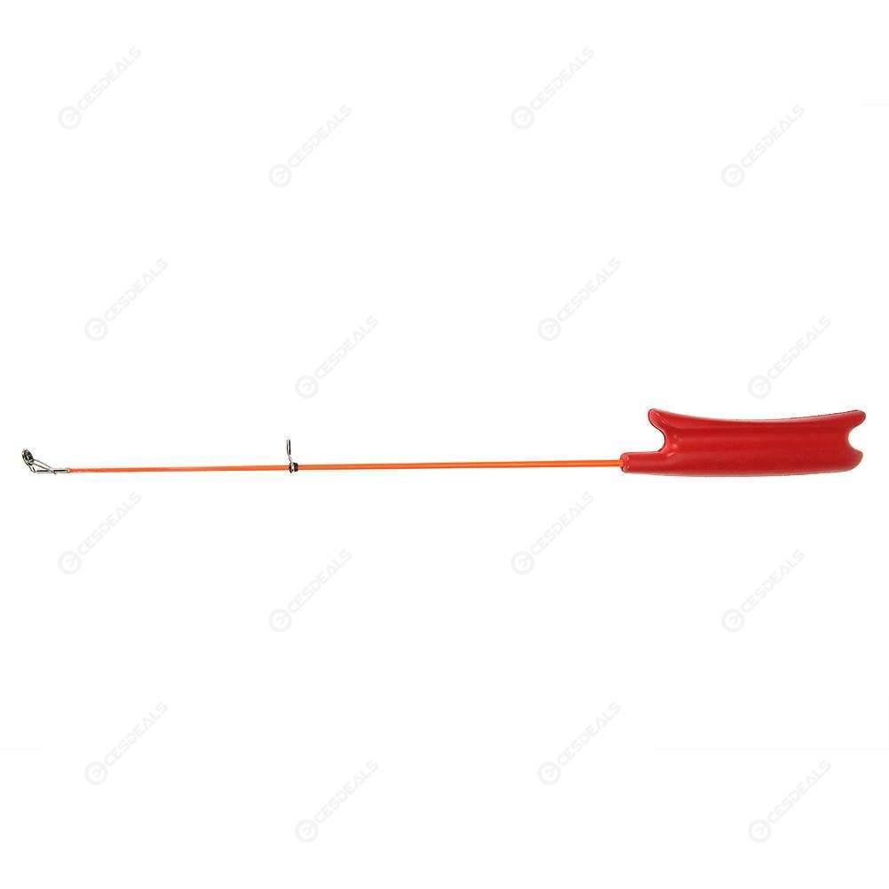 Portable Outdoor Winter Ice Fishing Rod 40cm Telescopic Pole Fishing Tackle Kit