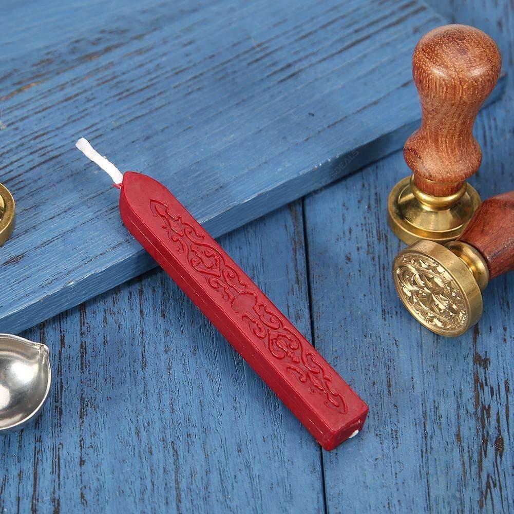 rosso Bastone antico antico ceralacca per inviti di nozze fai-da-te