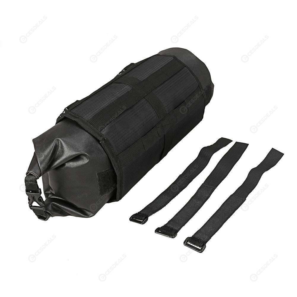 B SOUL Waterproof Bicycle Bike Front Tube Bag Handlebar Basket Pack Frame Pocket