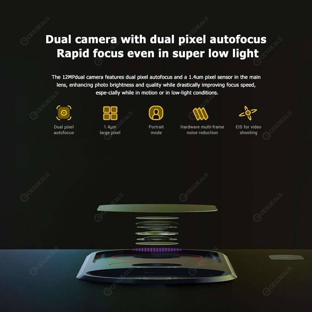 Xiaomi Pocophone F1 6+64GB Snapdragon 845 Smartphone w/Dual Camera (Black)