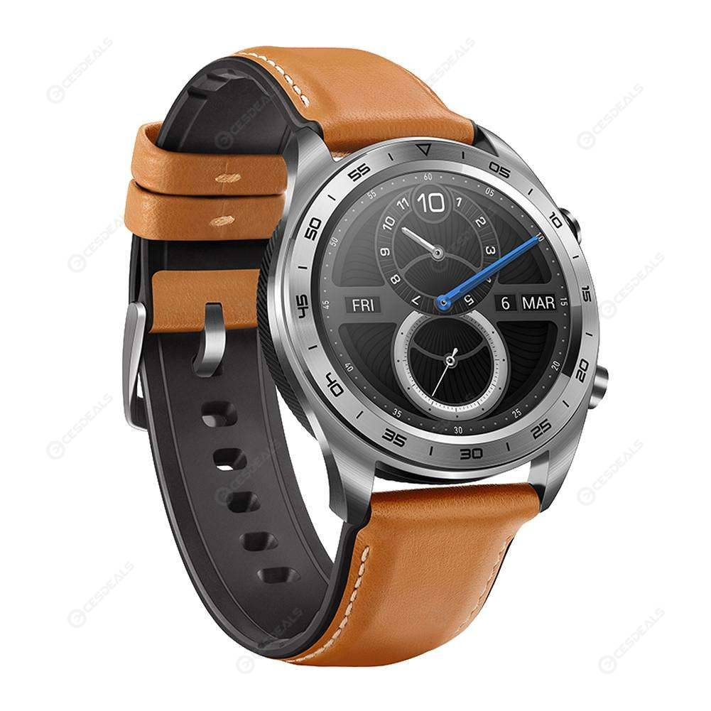 Huawei HONOR 1.2Inch AMOLED Touch Screen GPS NFC Magic Smart Watch (Silver)