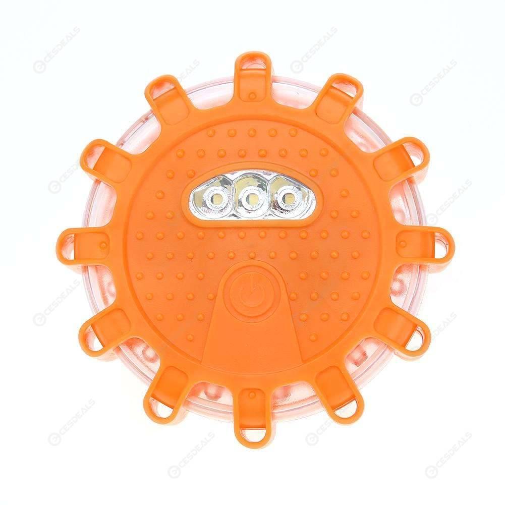 15LED Car Emergency Strobe Flashing Warning Light Roof Road Safety Lamp