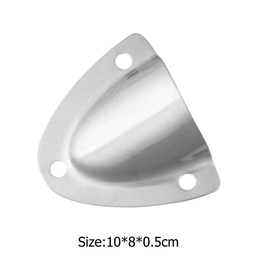 4Pcs Clam Shell Vent Wire Cable Cover Boat Hardware Yacht Dinghy Accessories