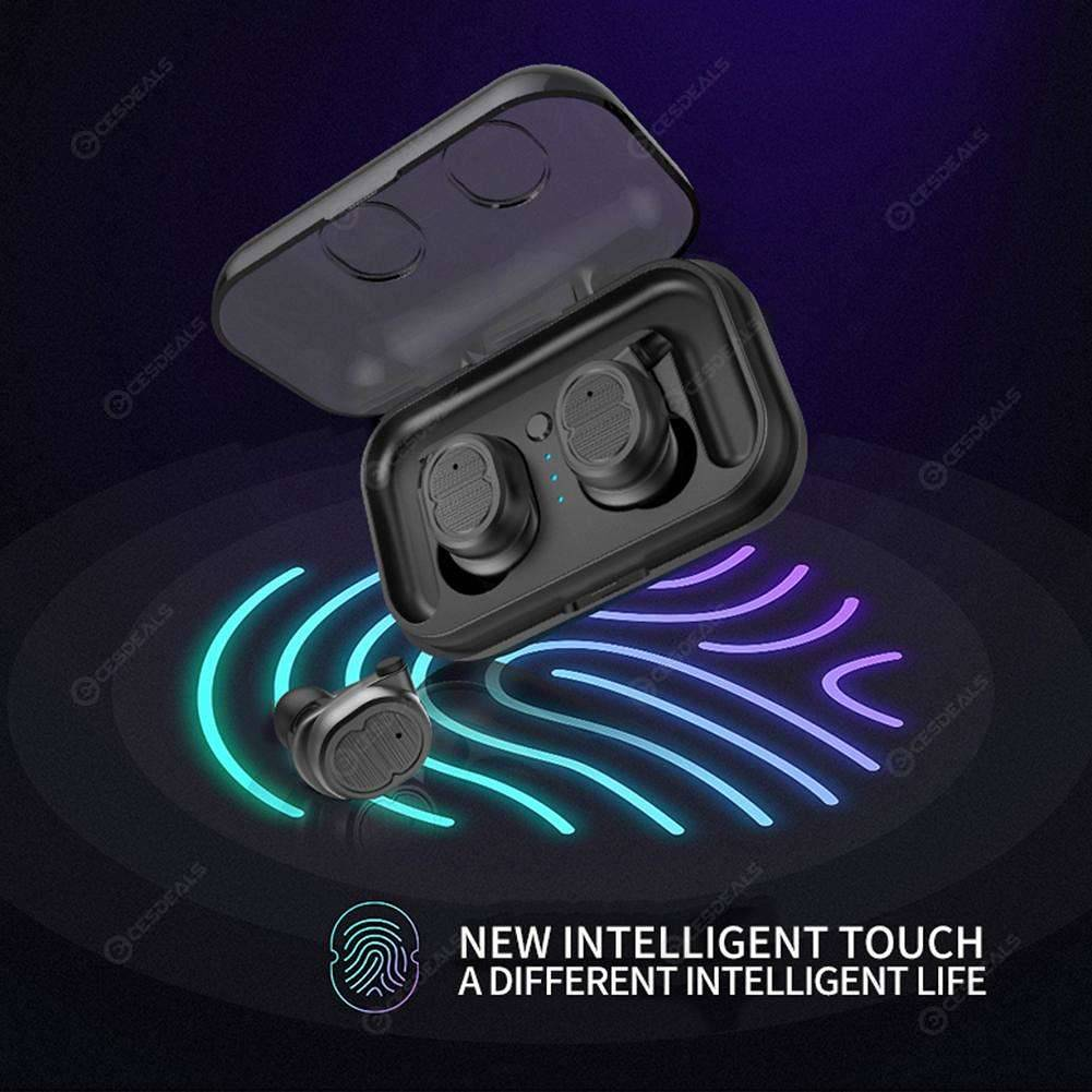 Mini TWS8 Wireless Earbuds Bluetooth 5.0 Sport Touch In-ear Earphone(Black)