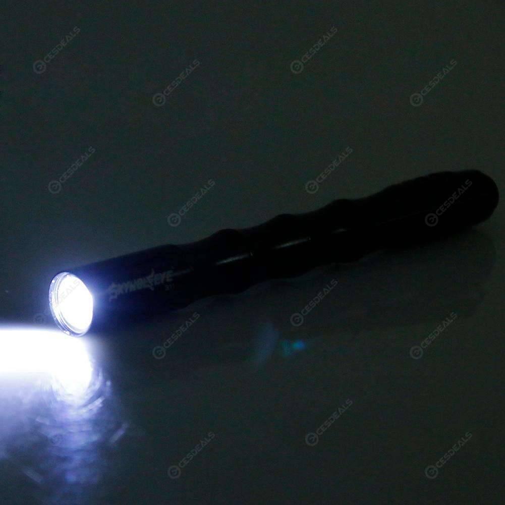 Skywolfeye Outdoor Portable Mini Pocket Penlight Flashlight Camping Torch