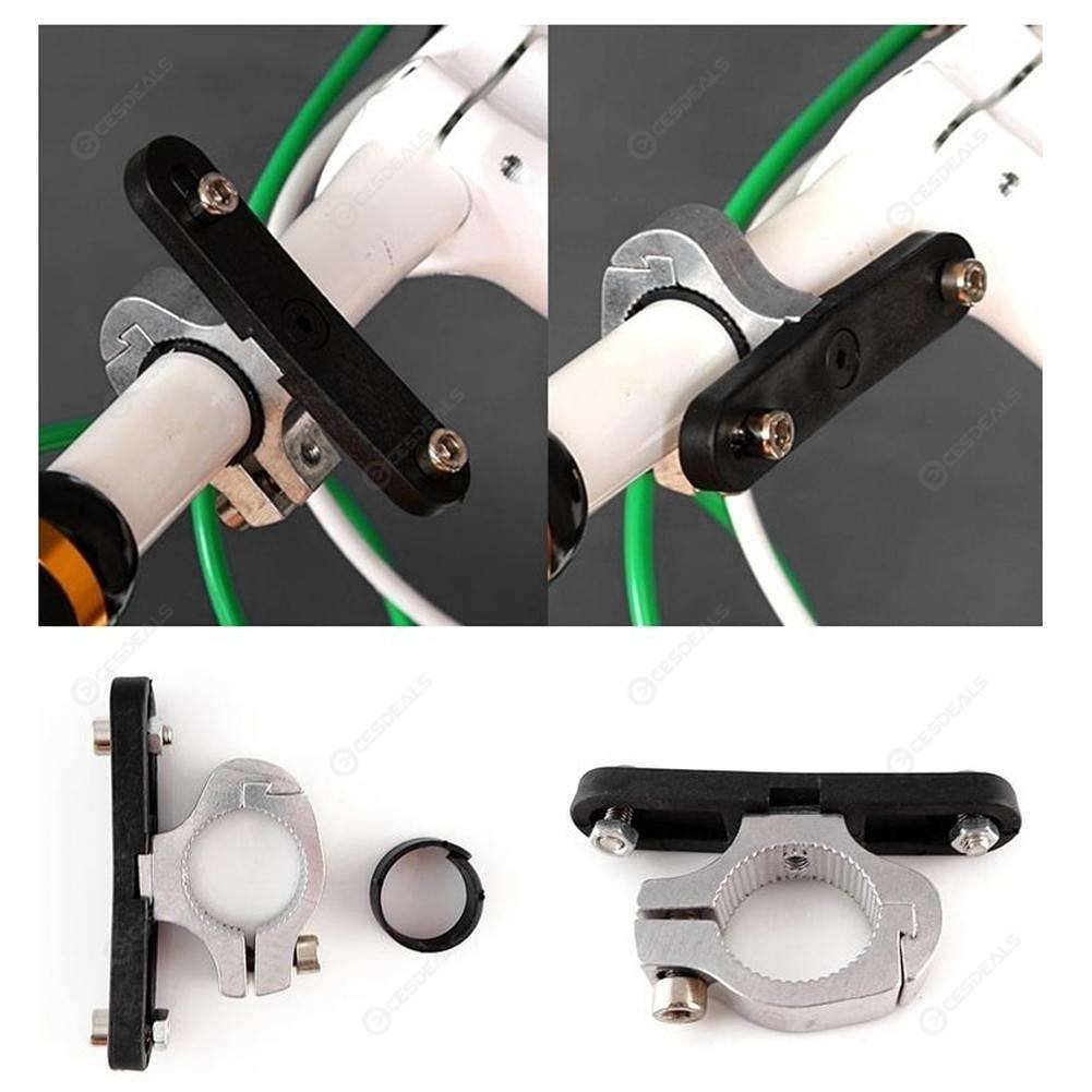 Outdoor Bike Bicycle Cycling Drink Water Bottle Holder Handlebar Adapter