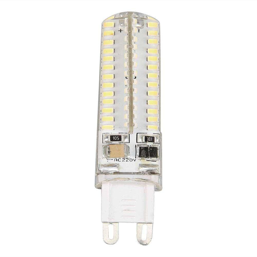 Aliexpress Com Buy 50cm Aluminum Led Smd3014 Chip Under: G9 104 SMD 3014 LED Silicone Corn Bulb Light 220V 5W