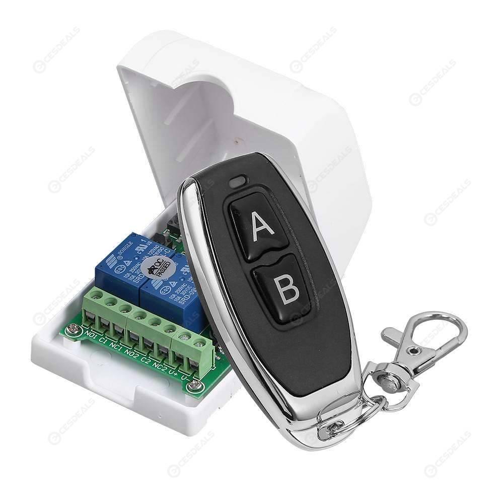 Migliore Marca Pittura Per Esterni 433mhz 2 way wireless remote control switch receiver transmitter (white ab)