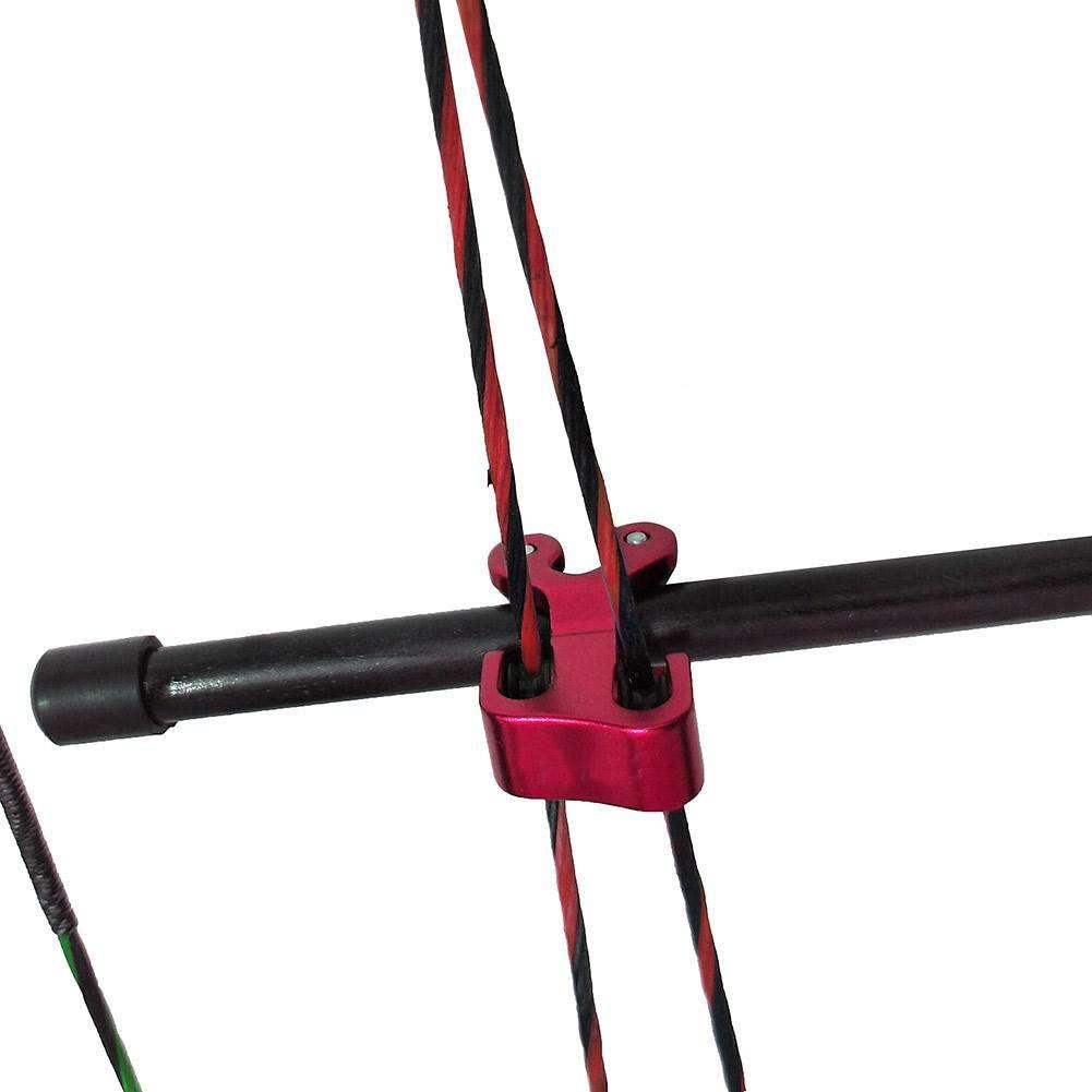 "Super String Roller Separator 3//8/"" Archery Cable Slide Splitter For Compound Bow"