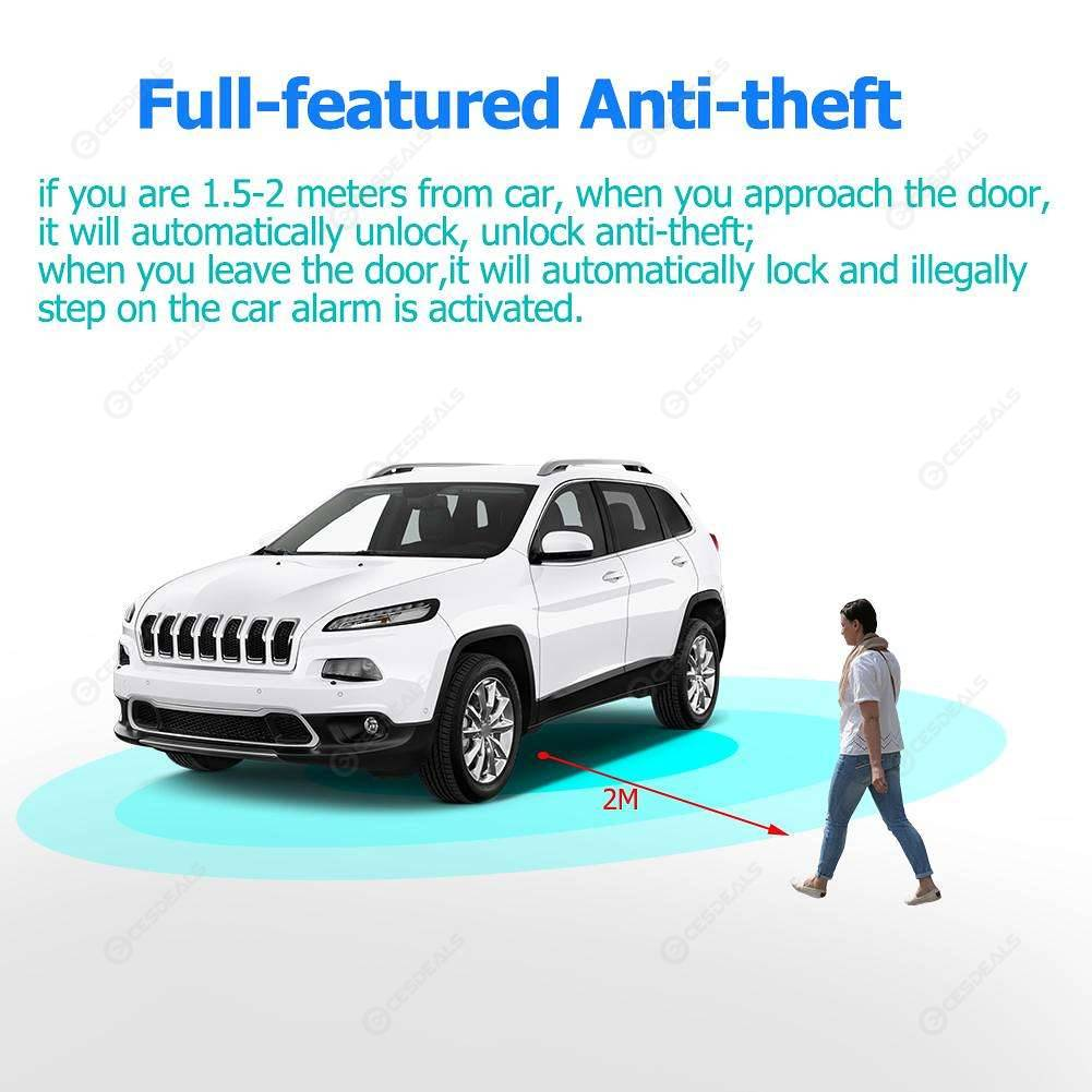 Car Anti Theft Wireless Alarm