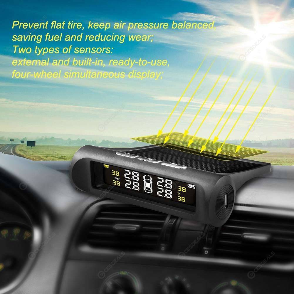 Solar Car TPMS SP370 Tire Pressure Monitoring System w/ Sensors (External)