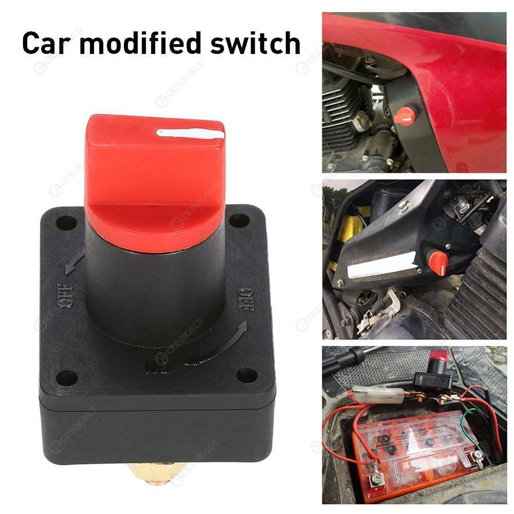 Battery Kill Switch >> 100a Battery Isolator Master Disconnect Power Cut Off Kill Switch Car Boat