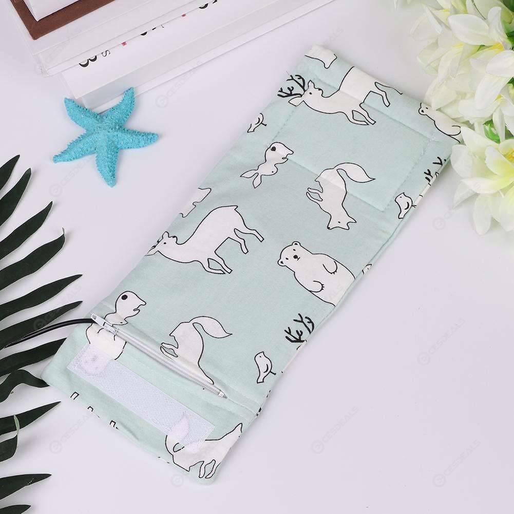Portable USB Baby Bottle Warmer Outdoor Milk Feeding Bottle Cover (Rabbit