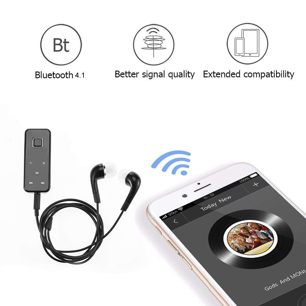 I5S Wireless Bluetooth In-Ear Earphone Lavalier On Stereo Headset with Mic