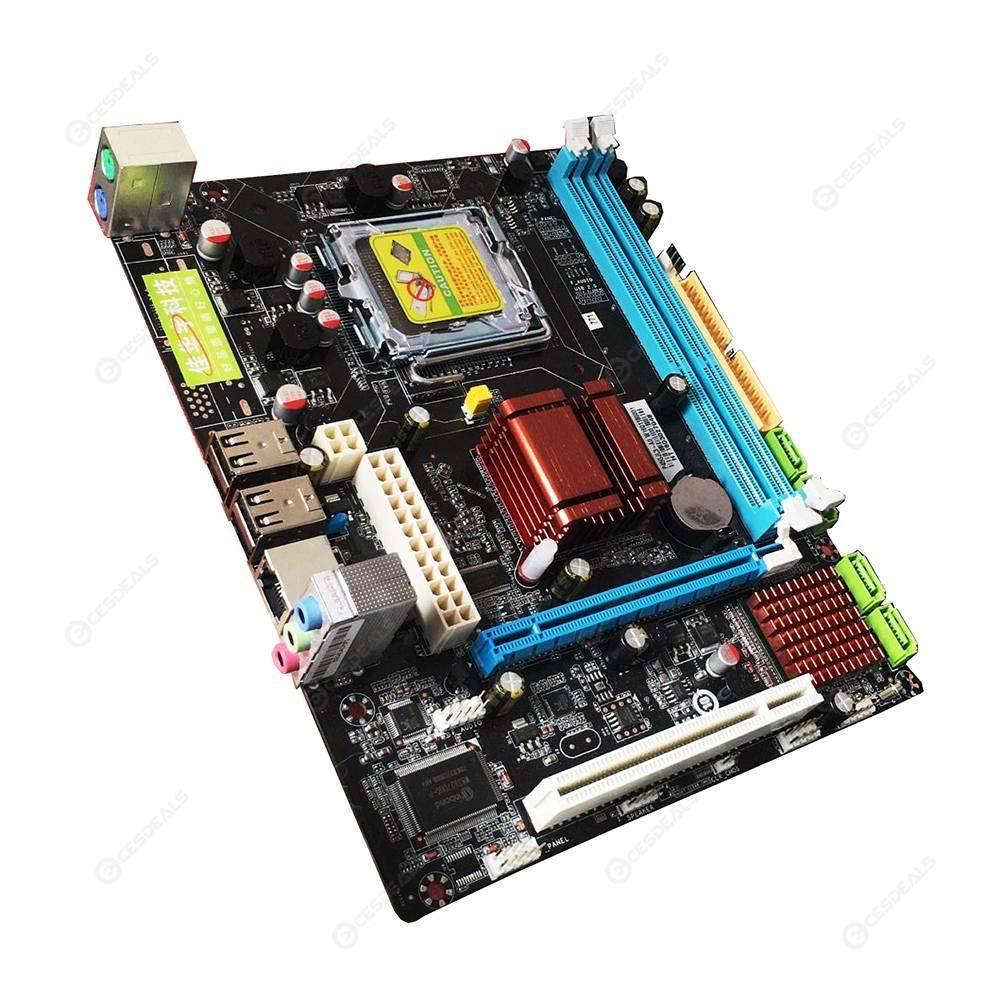 Desktop Motherboard P45 Mainboard LGA 771/775 Dual Board DDR3 Support L5420
