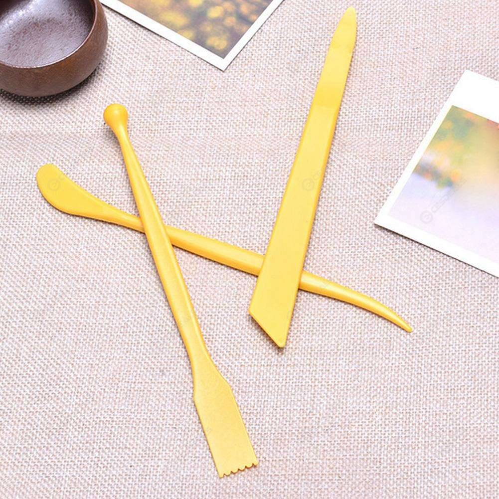 Ejiubas Clay Tools Kit 5 Silicone Blending Tool Rubber Brushes Paint Brushes 4 Modeling Clay Sculpting Tools Set