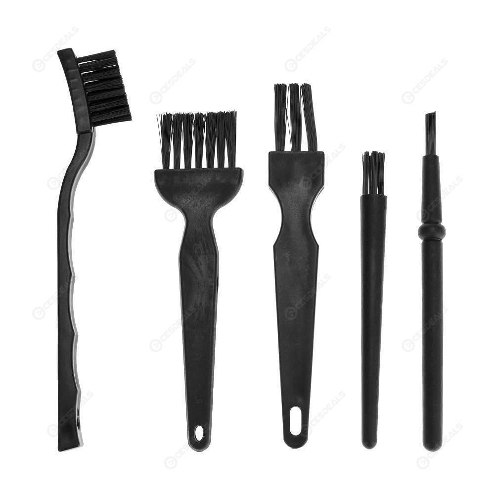 5pcs BGA Repair Cleaning Anti Static Brush Flux Paste PCB Repair Tools Kit