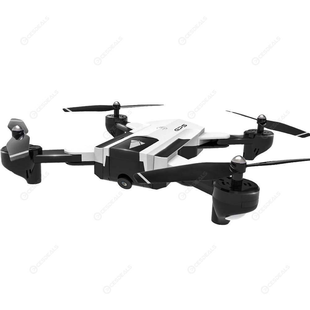 SG900-S GPS Drone Camera HD 720P FPV Wifi Altitude Hold Quadcopter (White)
