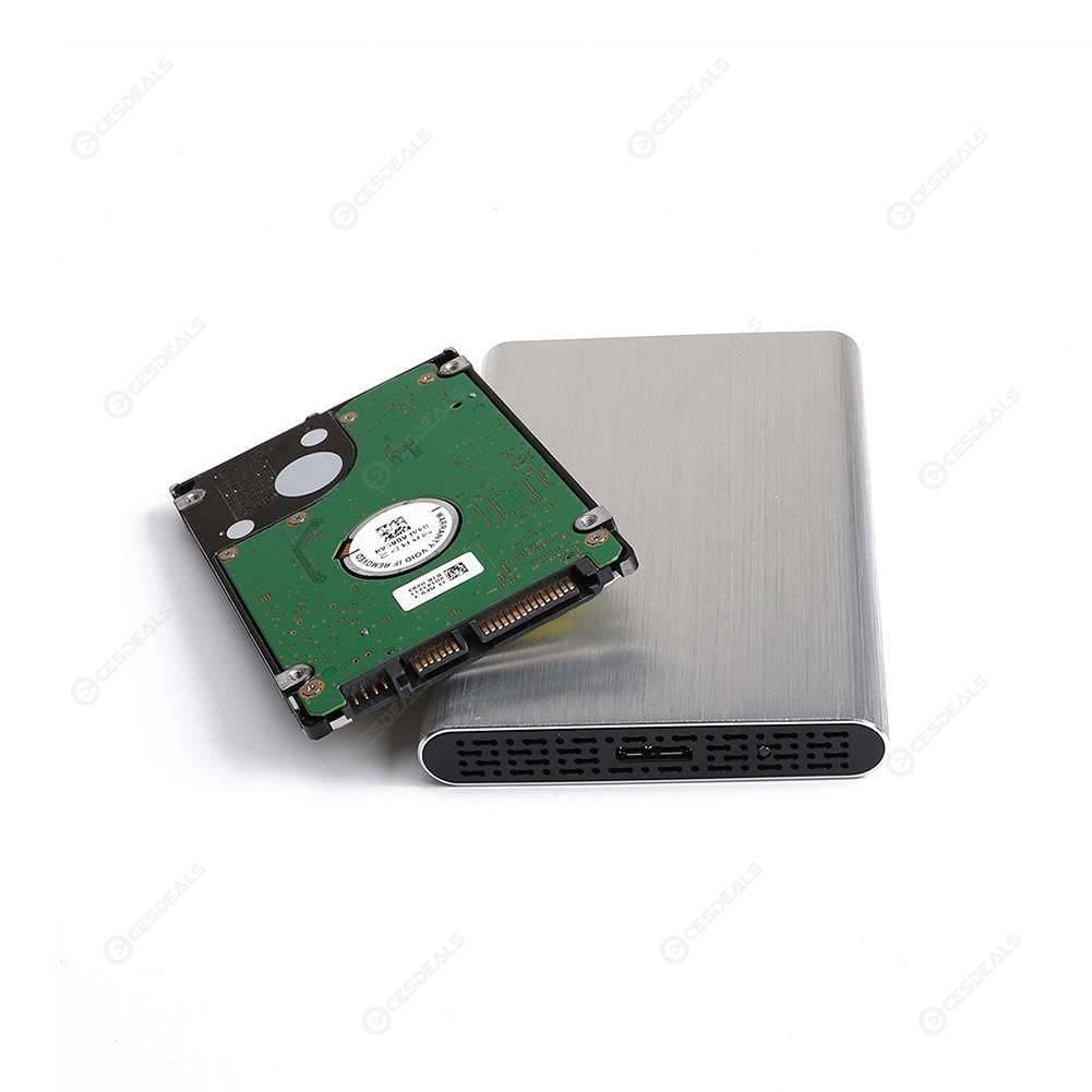 XuBa Tipo C a SATA 3.0, 2 TB Caja para Disco Duro SSD de 2,5