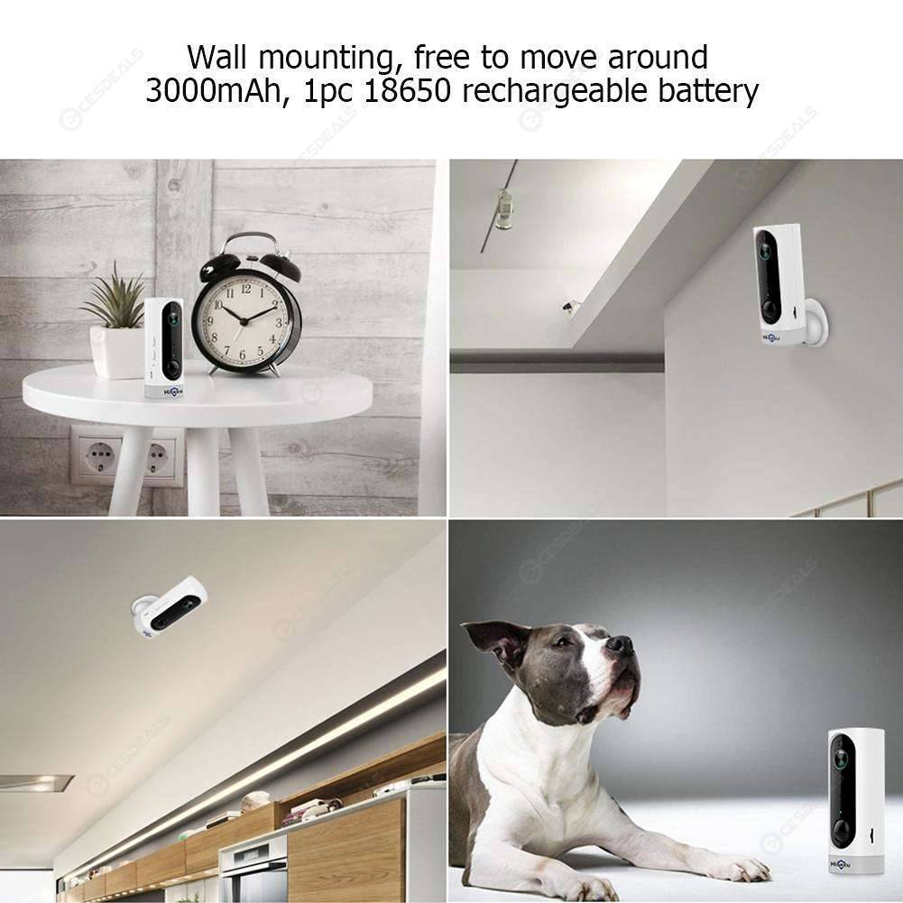 Hiseeu A10 WiFi IP Camera Motion Sensor Alarm Home Surveillance Camera (US)