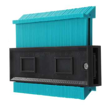 5 Inch Plastic Profile Copy Contour Gauge Standard Pipe Tile Laminate Tool