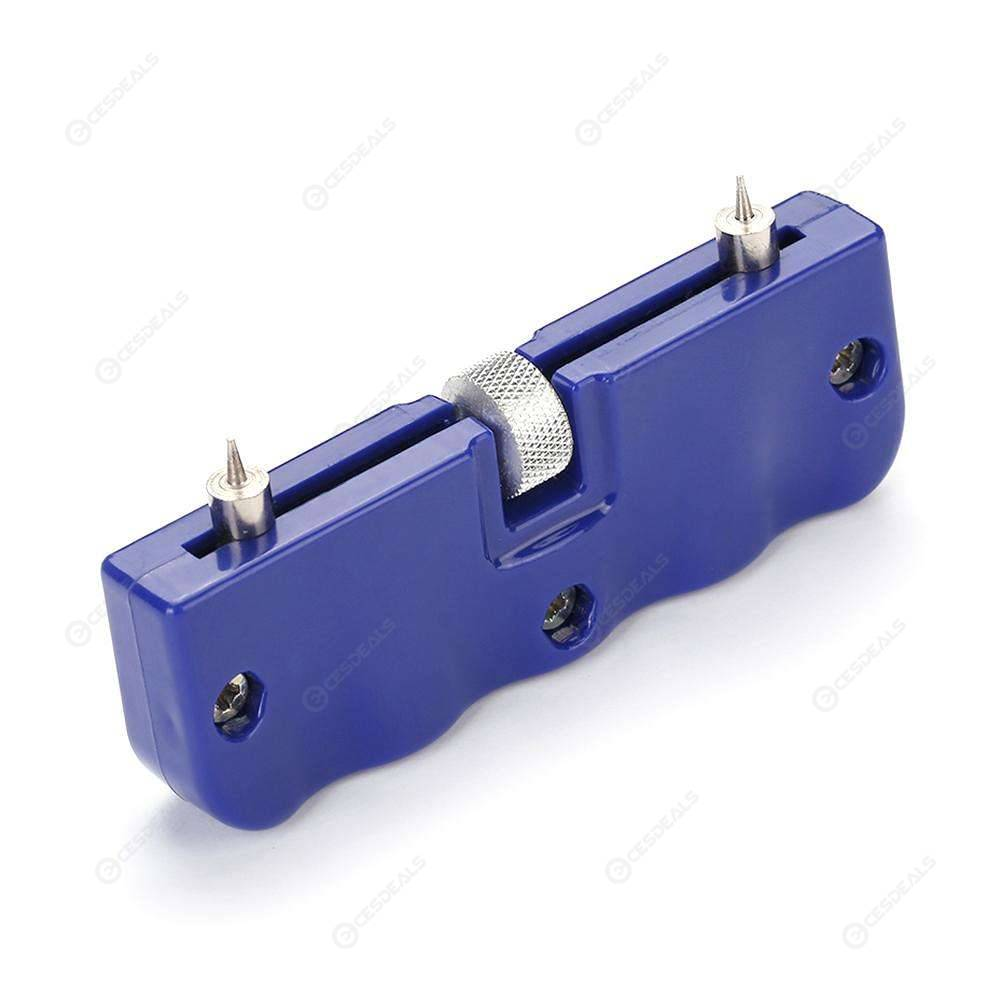 Adjustable Watch Back Case Cover Opener Holder+Screw Wrench RemoverTool