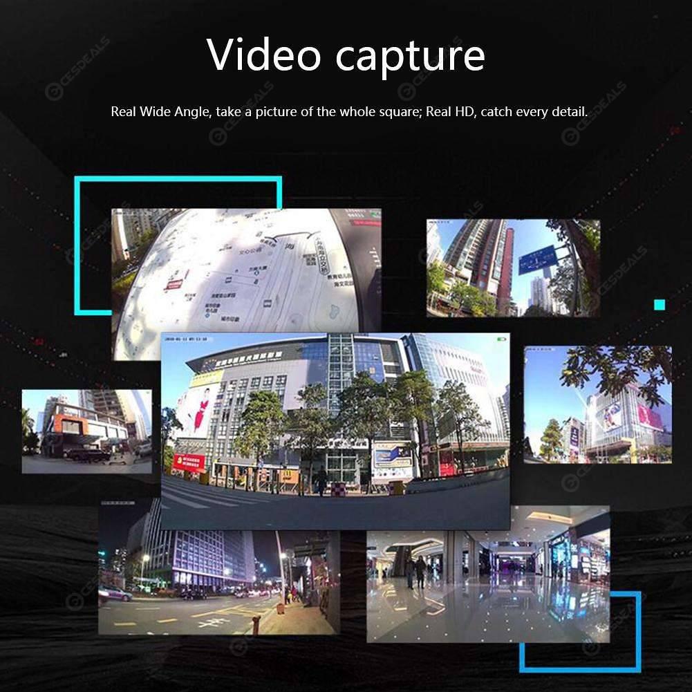 A9 1080P Mini WiFi Camera IR Night Vision P2P Motion Detection DV (Black)