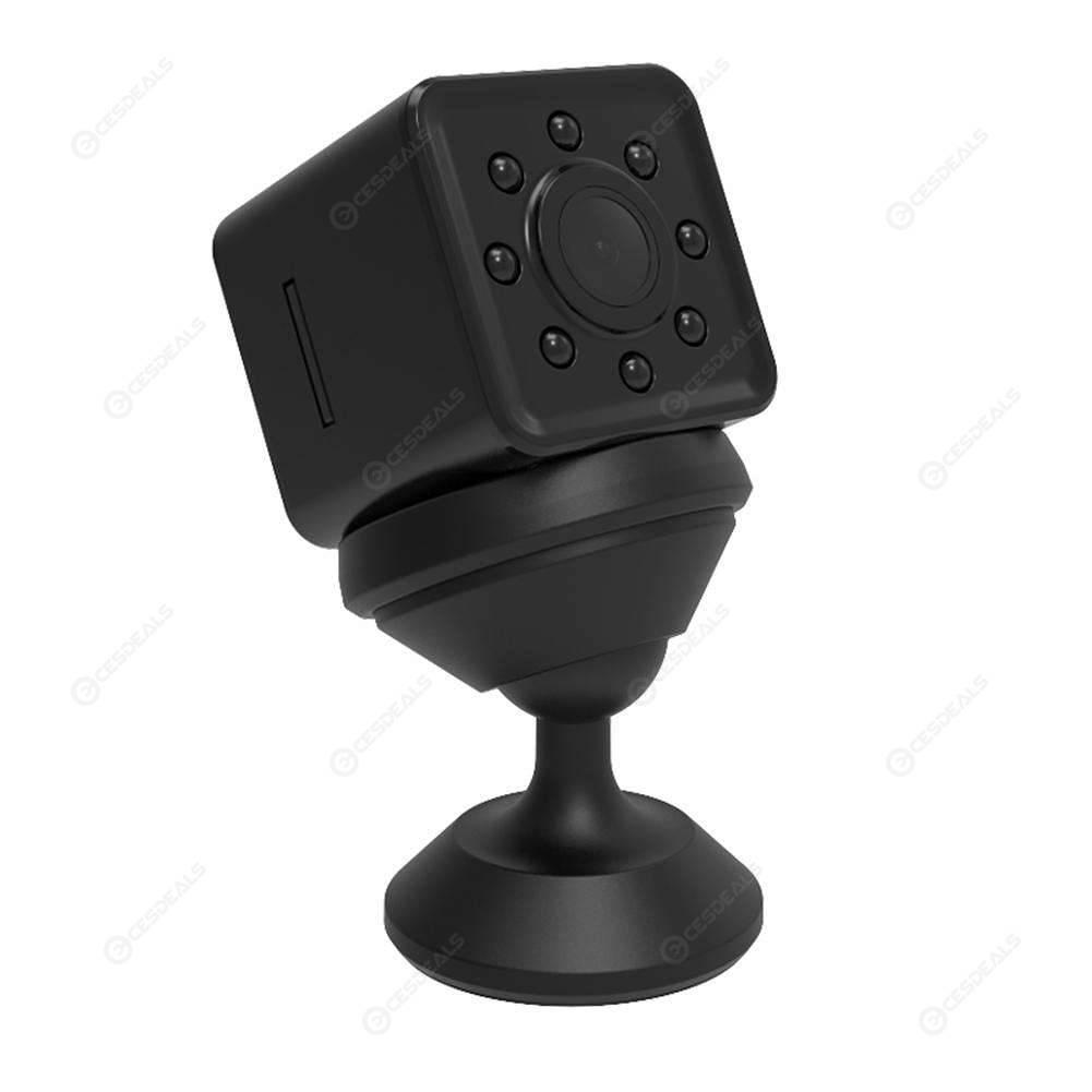SQ13 WiFi Waterproof Diving Camera 1080P HD IR Night Vision Mini DV (Black)