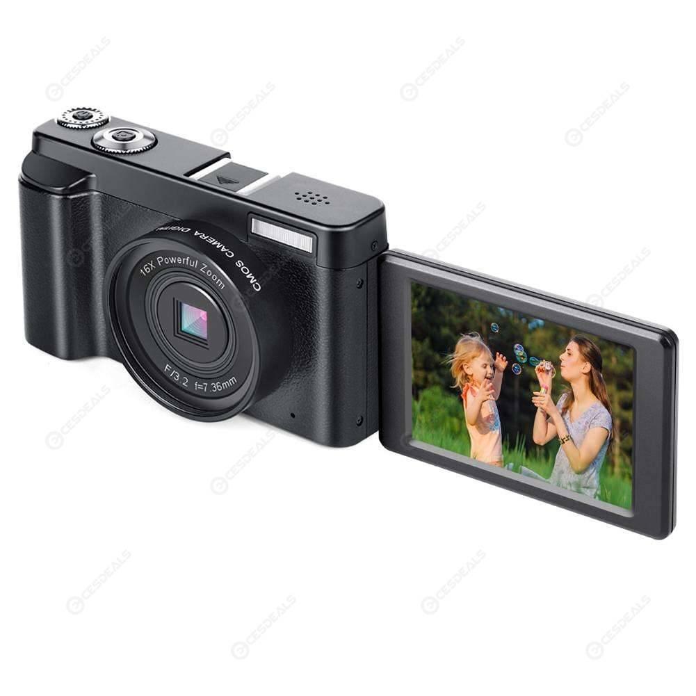 P11 Flip Screen Wireless WIFI Full HD 1080P 24MP 16X Zoom Digital Camera