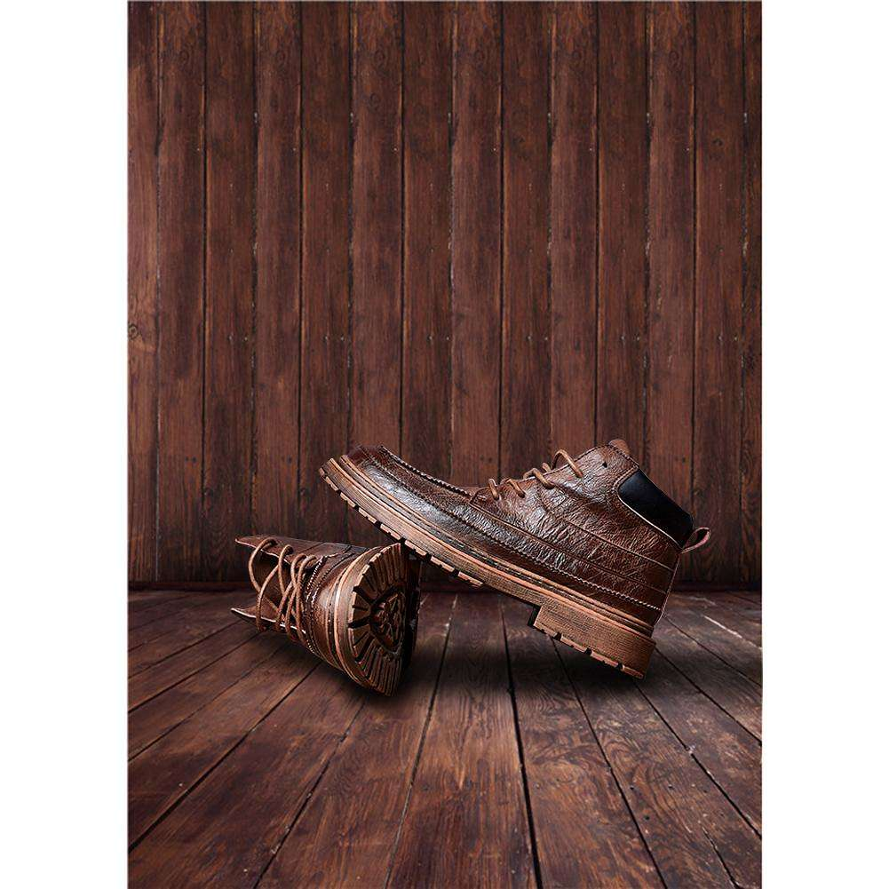 Rustic Brown Wood Board Photography Backdrops Desk Table Photo Background