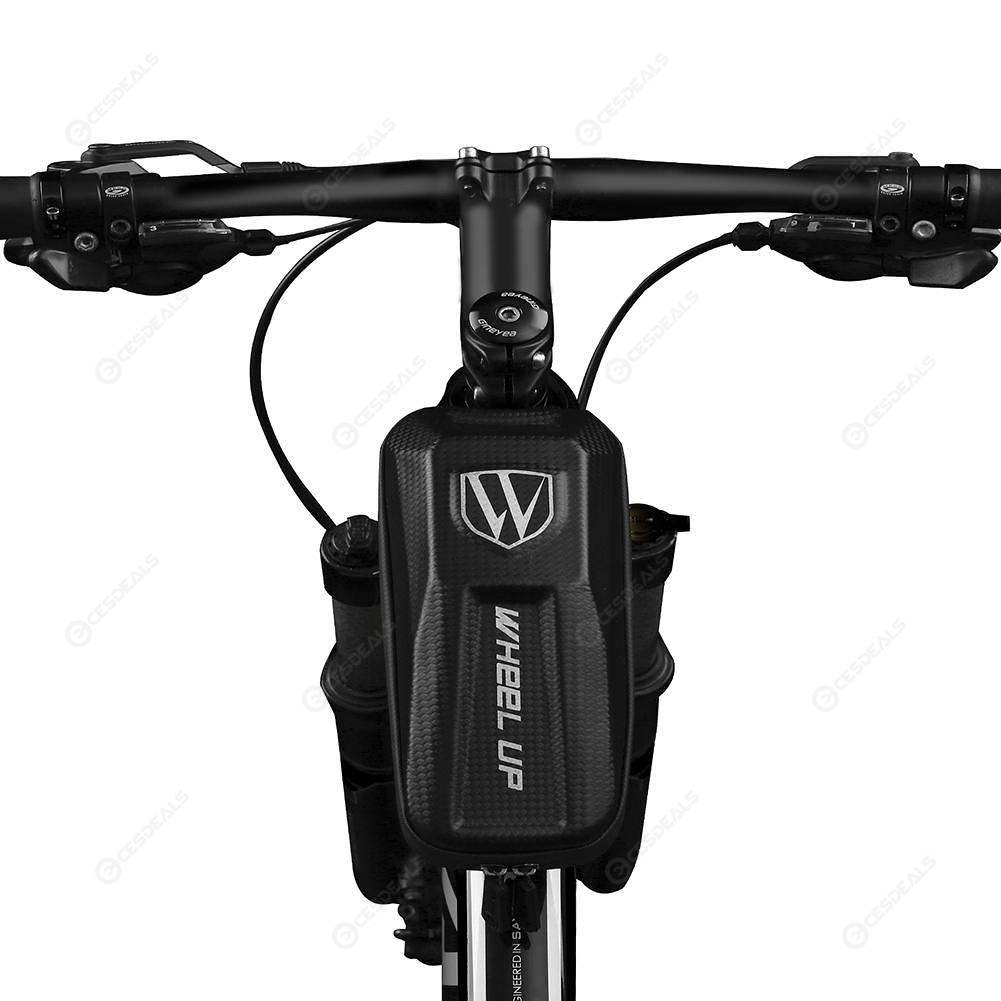 Wheelup Waterproof Cycling Bicycle Bike Front Beam Pack Tube Pannier Pouch Bag
