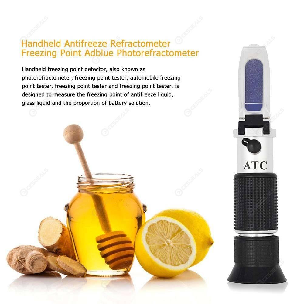 Handheld Urea Refractometer Antifreeze Freezing Point Adblue Photorefractometer