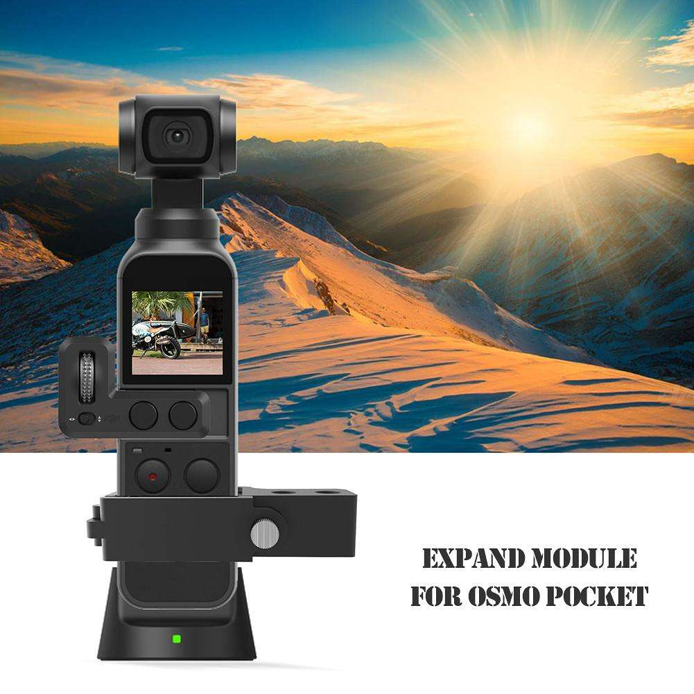 Mount Extension Module 4K Video 3-Axis Gimbal for DJI OSMO Pocket Accessory