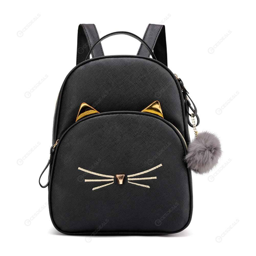 Teenagers Backpack Leather School Bags Girl