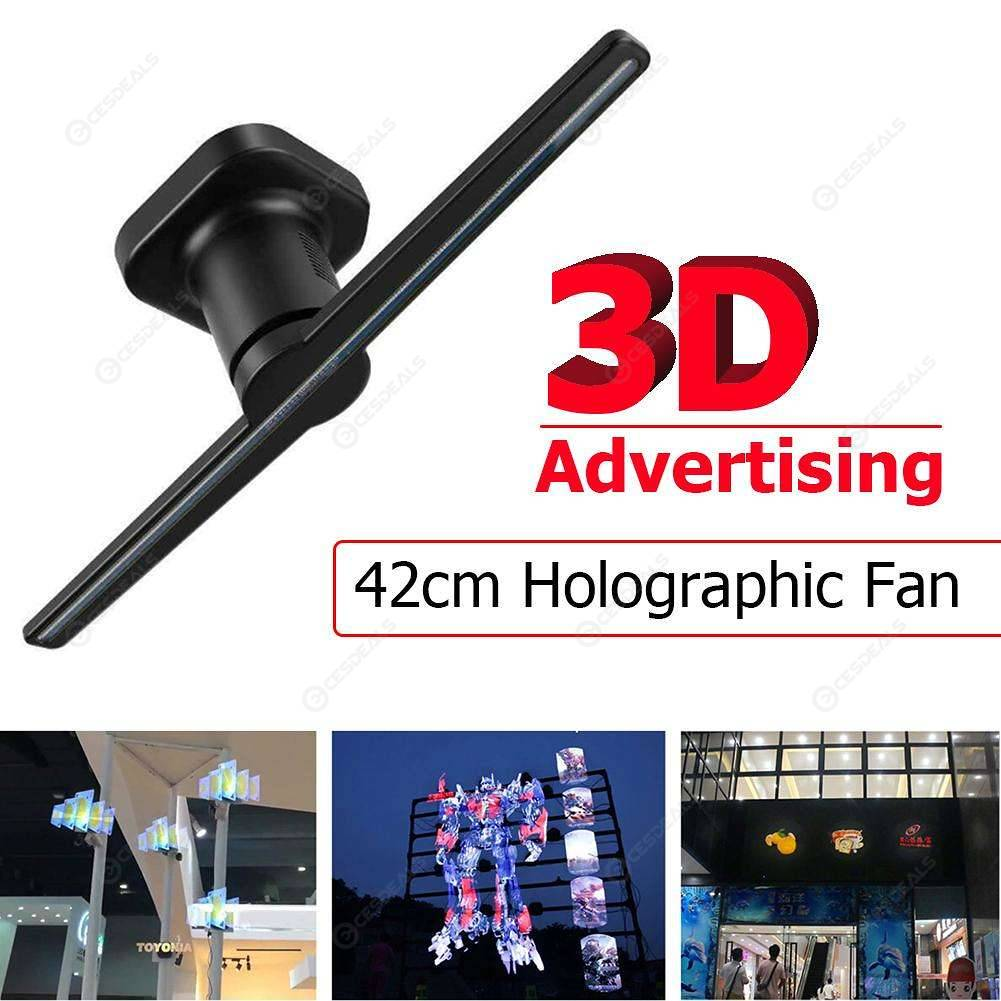 42cm/16.54Inch 3D Naked Eye Hologram Advertising Holographic Projector (US)