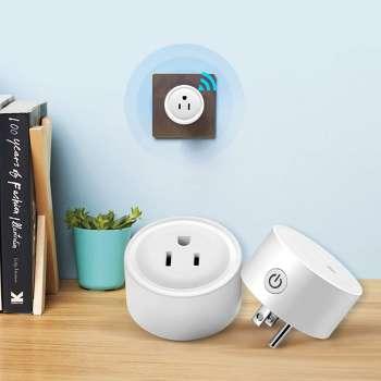 WiFi US Smart Plug Socket Timing Switch Remote Control with Alexa/Google