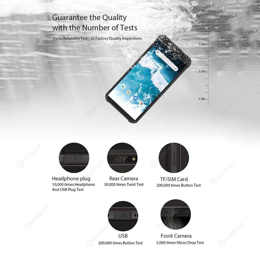 EU Version Blackview BV5500 3G Smartphone Dual SIM Android8 1 Phone (Black)