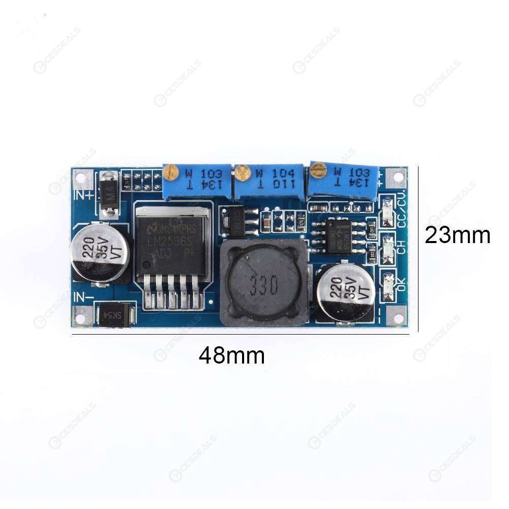 LM2596 Constant Current Voltage Board DC-DC Power Supply Module LED Driver