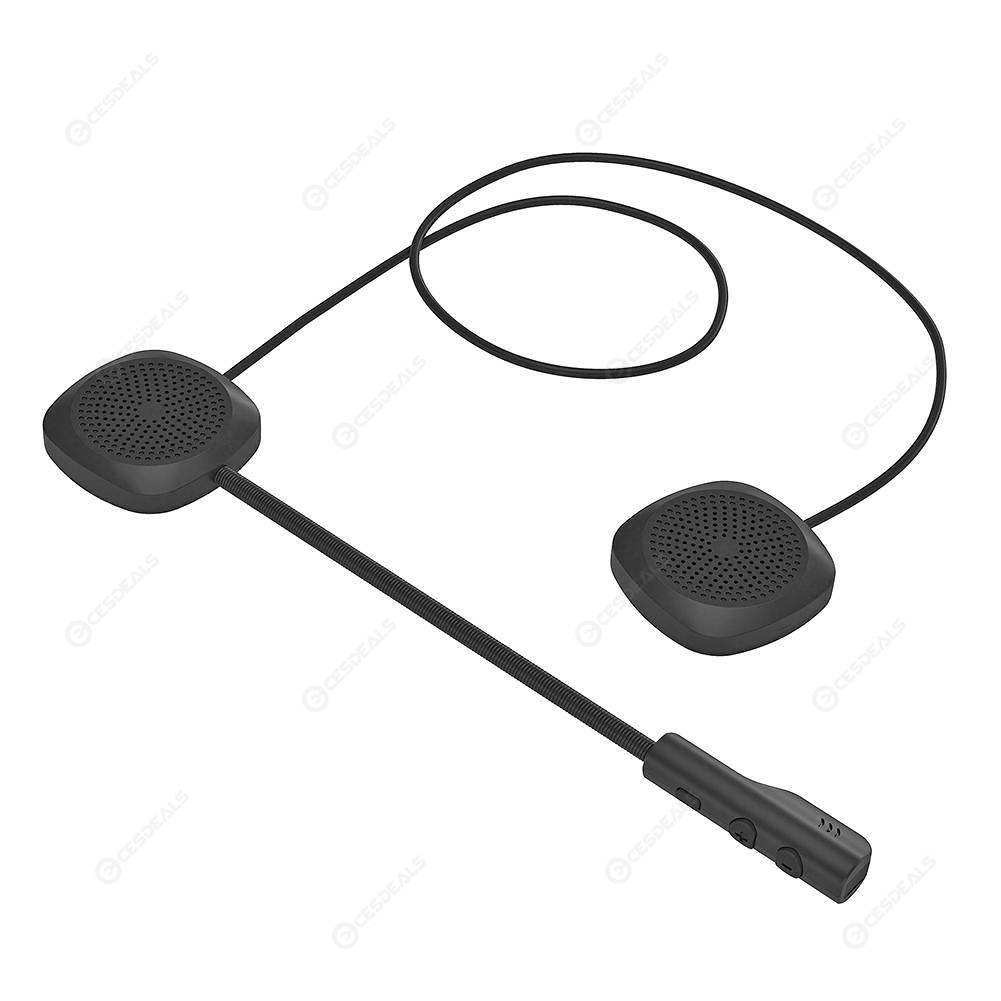 135d110f2f4 MH04 Motorcycle Helmet Headset Wireless Bluetooth 5.0 Hands Free Headphones  ...