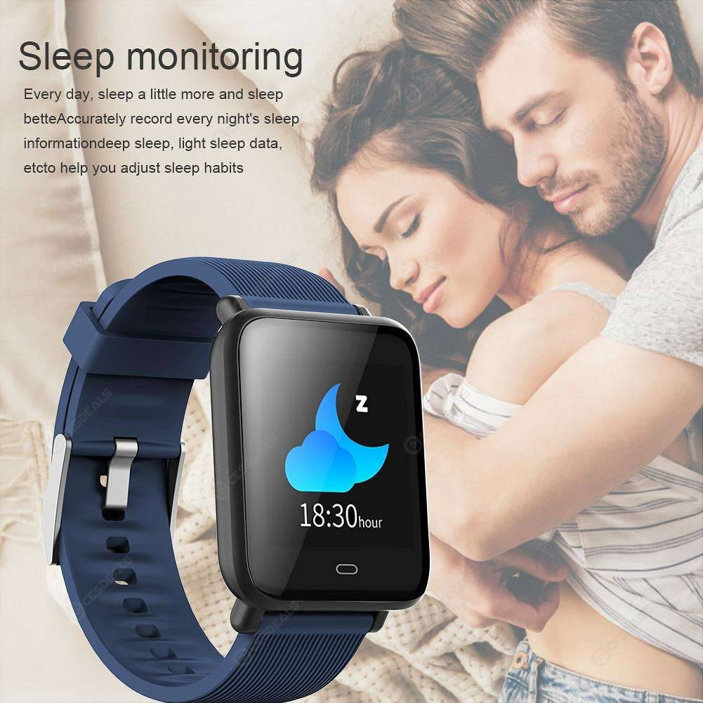 Q9 Blood Pressure IP67 Waterproof Sports Heart Rate Smart Watch (Blue)
