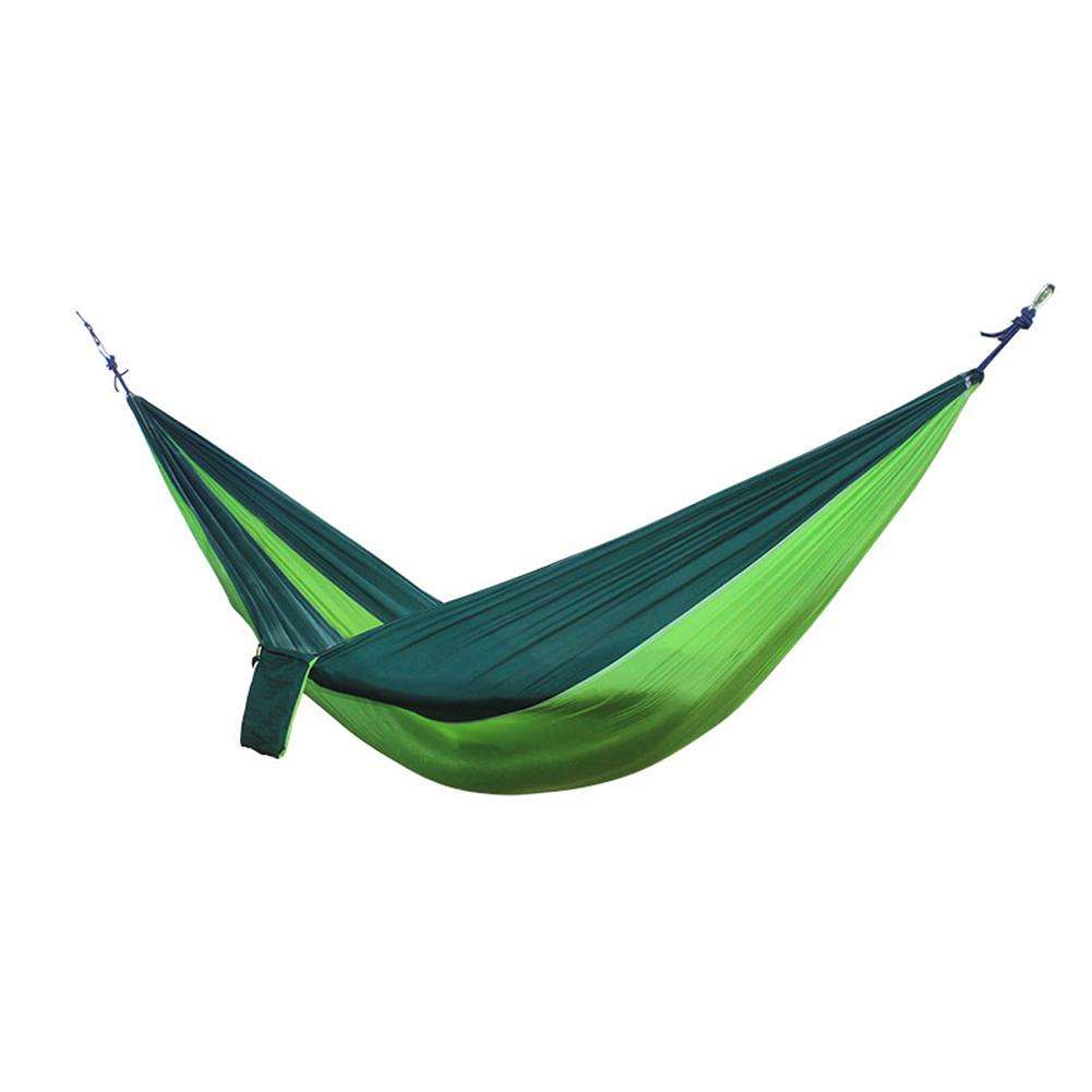 Kitchen Bar Greenside: Nylon Double Person Hammock Sleeping Bed (Fruit Green With