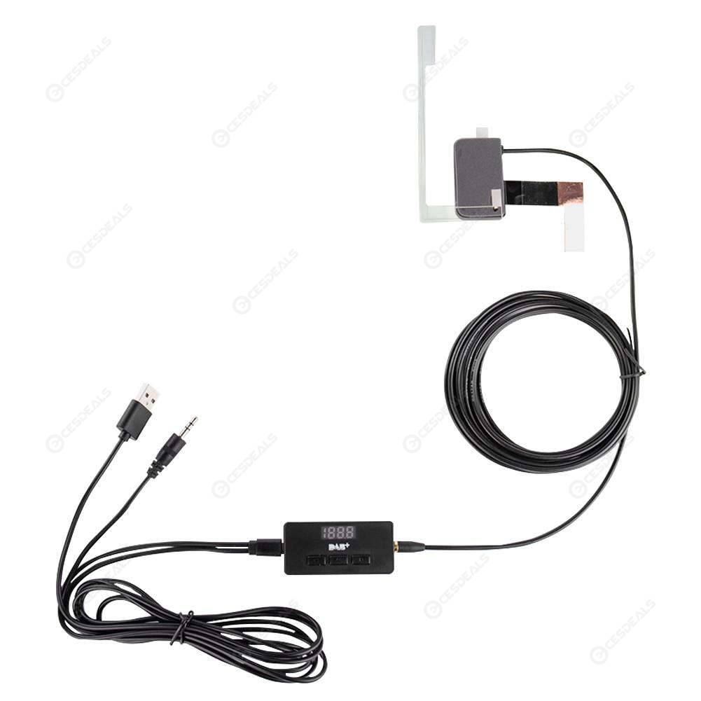 Digital Display DAB Receiver Box with Antenna for Android Wince Car Stereo