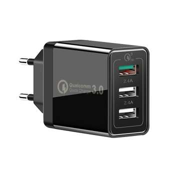 Quick Charge 3.0 USB Charger 30W QC3.0 Travel Wall Charger Power Adapter EU