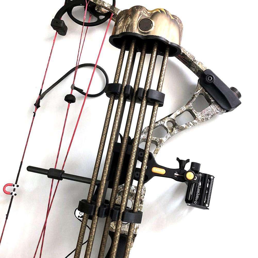 2pcs//set Archery Arrow Racks Storage Holder Organizer Hunting Bow Accessories