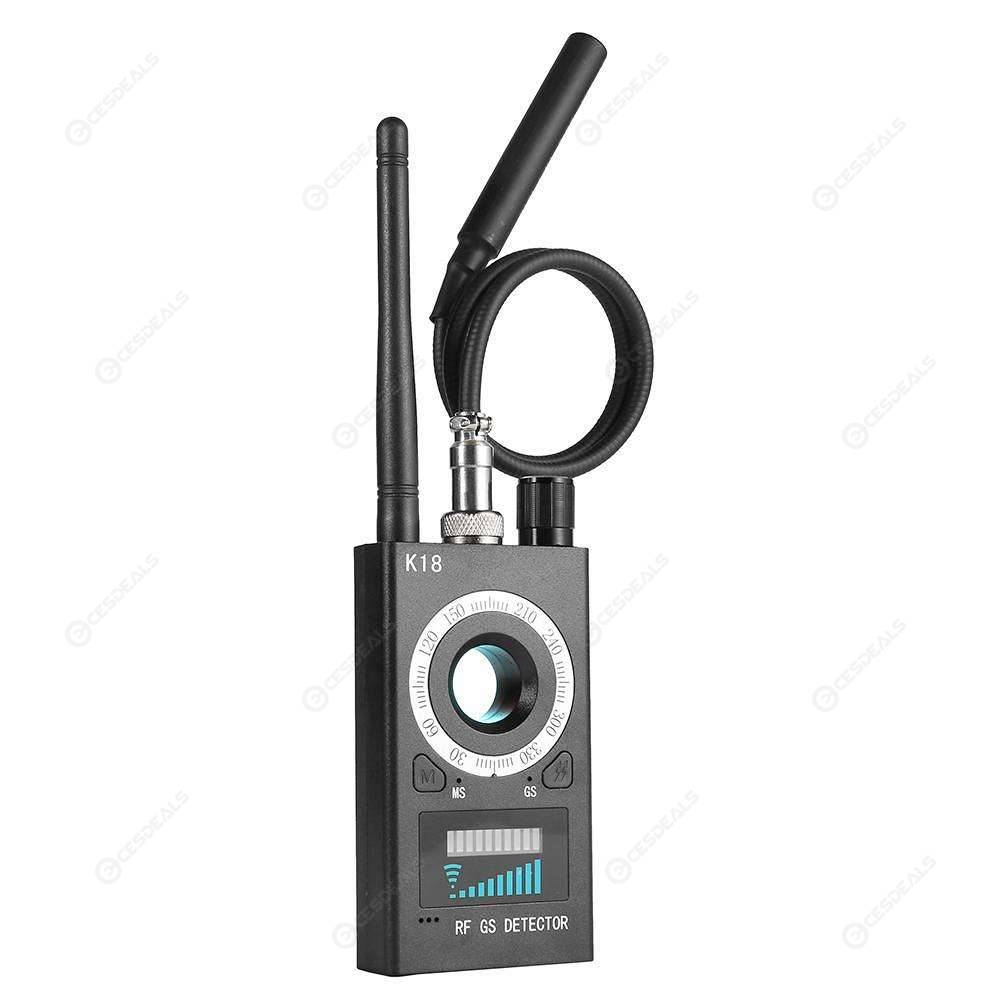 K18 Anti-Bug Detector GSM Audio Bug Finder GPS Wireless Signal Tracker (EU)