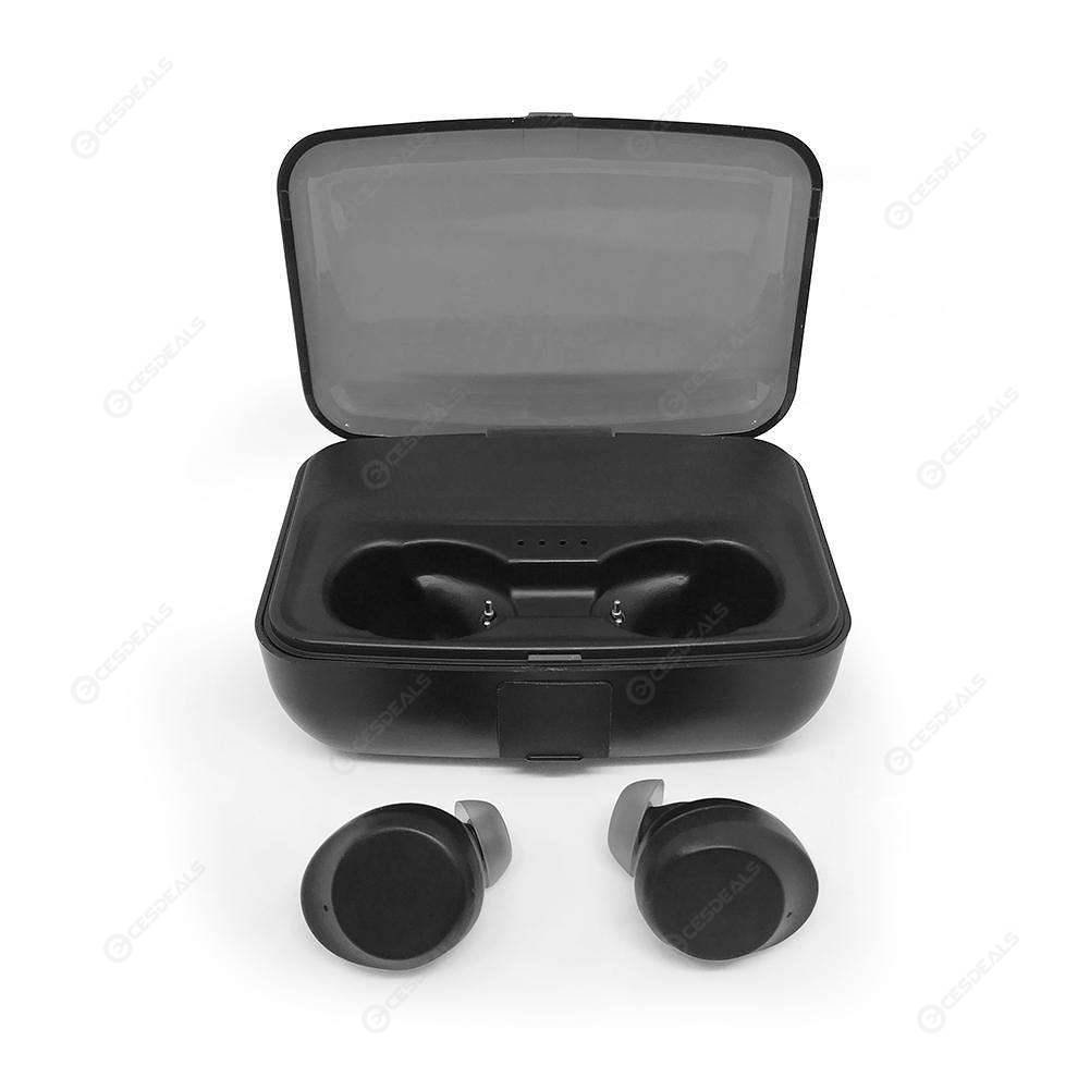 C3 Ture TWS Touch Wireless Earphones Bluetooth 5 0 Earbuds w/ Charging Box