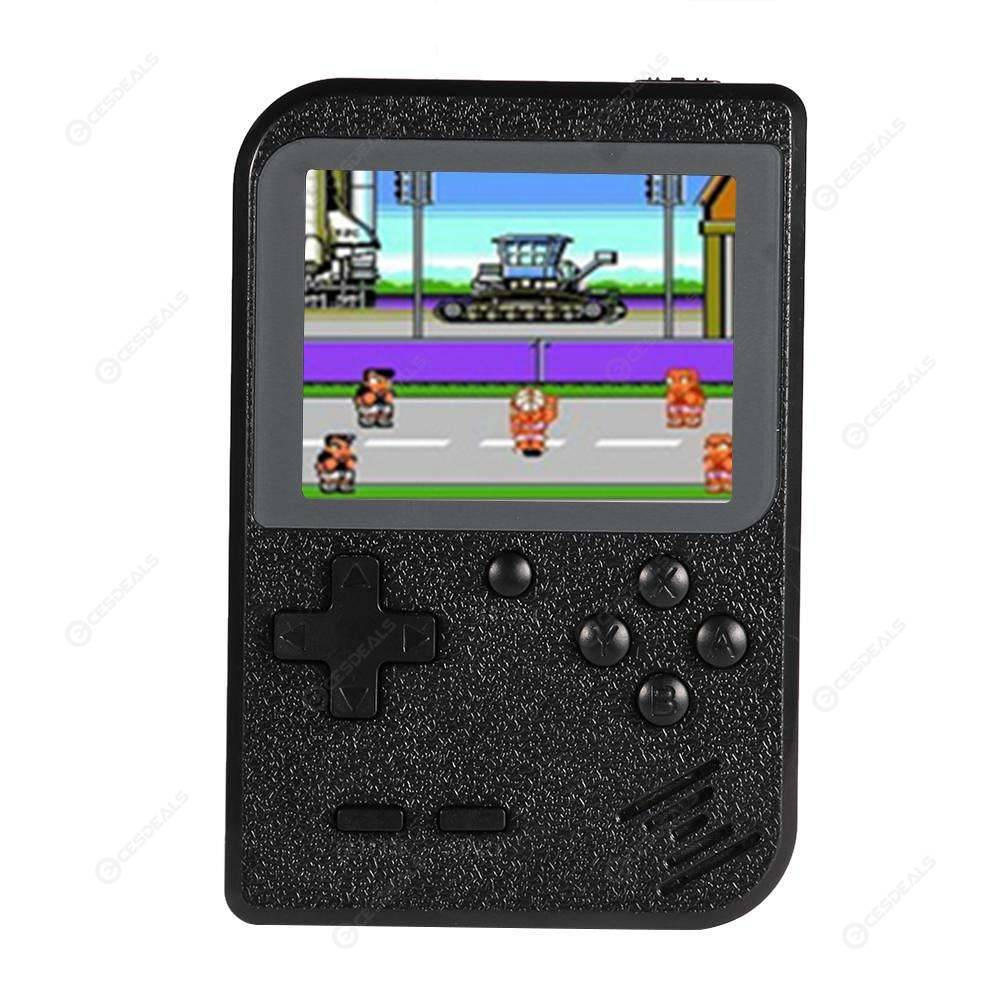 Video Game Console 8 Bit Game Player Built-in 400 Classic Games (Black)